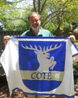 3 generations of Cote share this flag.